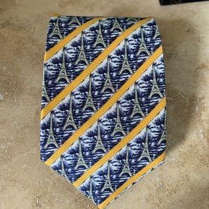 Axe Mod Paris Silk Tie